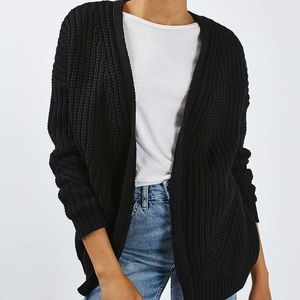TOPSHOP Fisherman Rib Cardigan